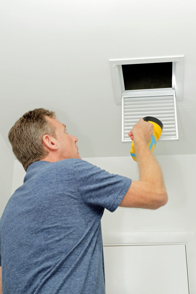 how to clean ducts